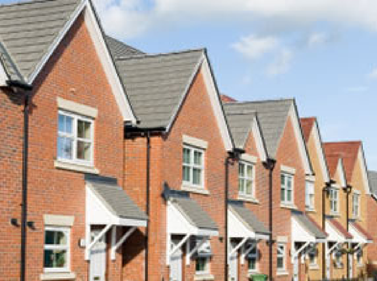 Image of a row of houses for website J&J Commercial Finance