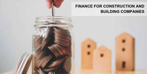 image of coins in a jar and building for website J&J Commercial Finance